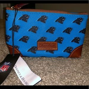 Carolina Panthers Dooney & Burke Clutch
